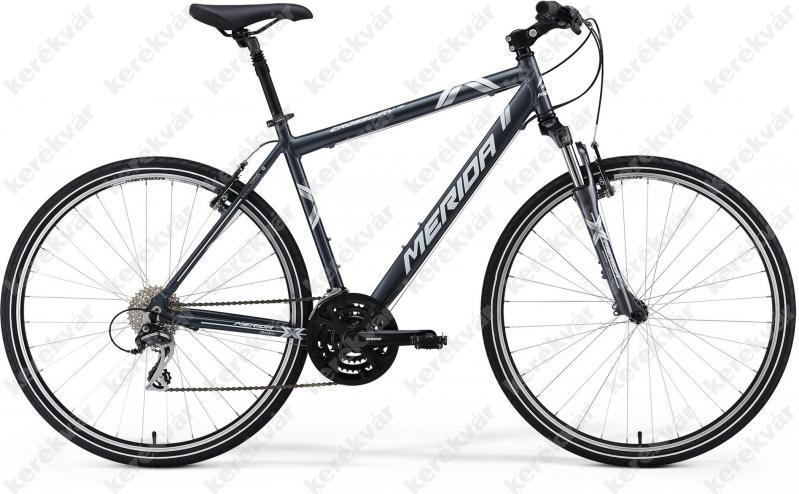 Merida Crossway 15V Cross Trekking bicycle grey 2014 ...