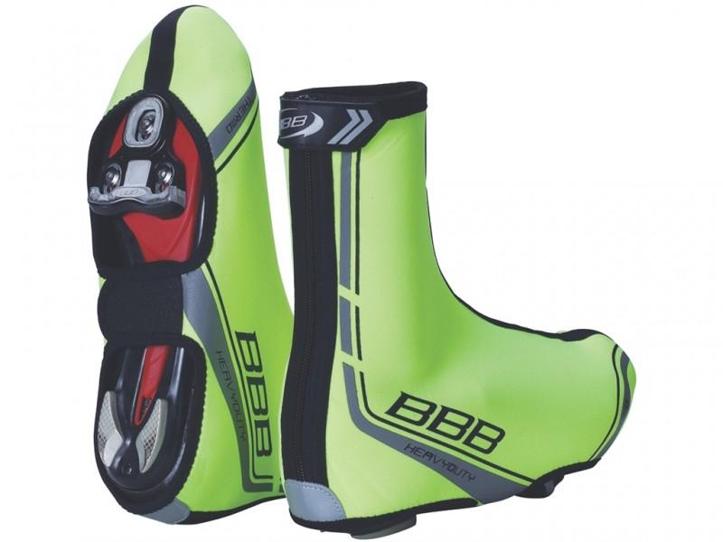 BBB Heavy Duty winter shoe cover neon green