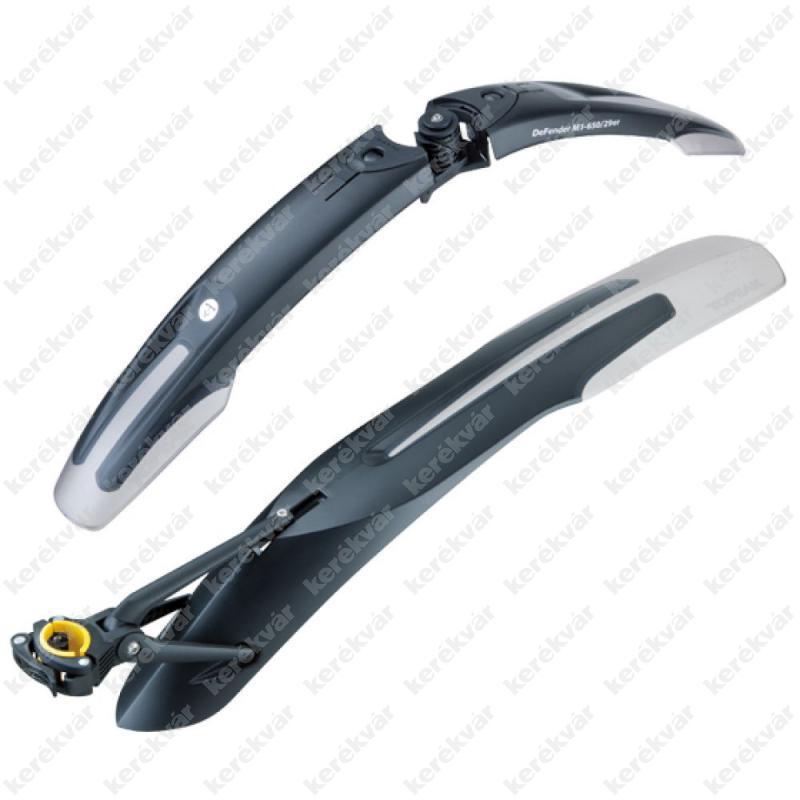 """Topeak M1+XC11 MTB 29"""" patent mud guard pair black 2015"""