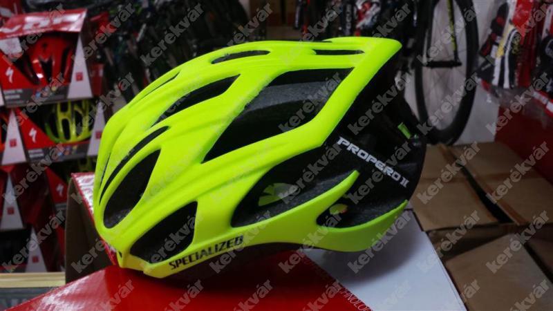 Specialized Propero Ii Helmet Neon Green Ker 233 Kv 225 R Bike