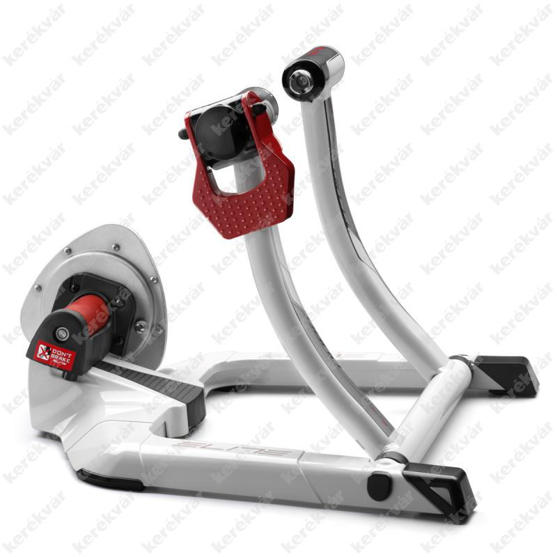 Elite Qubo Power Fluid home trainer white/red 2015