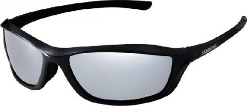Shimano interchangable lenses eyeglass black 2 pár lencsével
