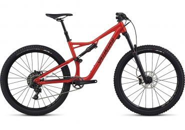 "Specialized Stumpjumper FSR MTB 27,5"" kerékpár piros/fekete 2017"