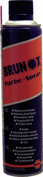 Brunox Turbo 5 funkciós spray 400ml