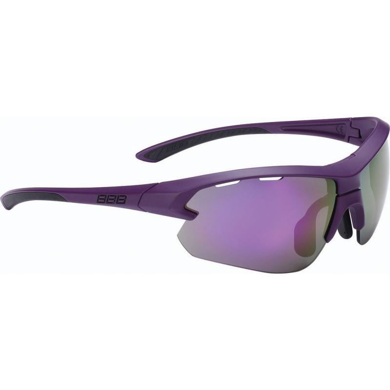 BBB Impulse Small eyeglass mat purple /lila lencsével