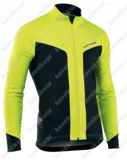 Northwave Reload téli kabát fekete/neon sárga 2.Kép