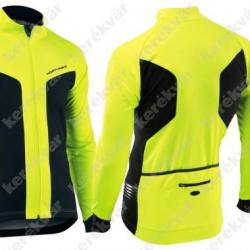 Northwave Reload téli kabát fekete/neon sárga 1.Kép
