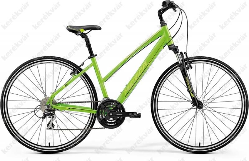 Merida Crossway 20V Cross Trekking női kerékpár zöld 2018