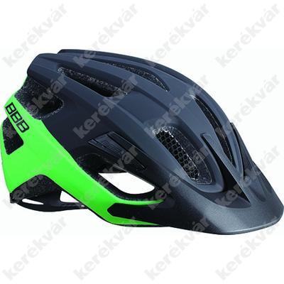 BBB Kite fejvédő matt fekete/zöld