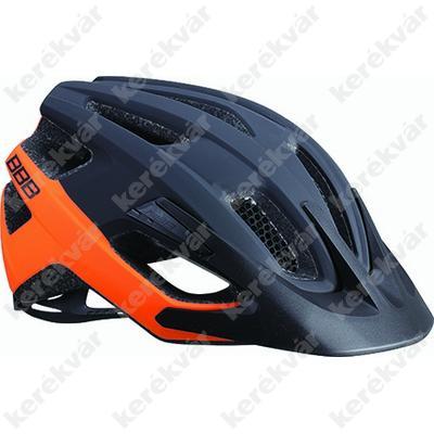 BBB Kite fejvédő matt fekete/narancs