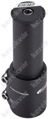 """aluminium A-head 1 1/8"""" átalakító adapter fekete   Kép"""