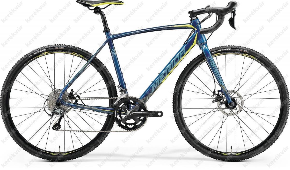 Merida Cyclo Cross 300 országúti kerékpár kék/sárga 2018