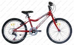 Fox gyerek kerékpár bordó  dobozos Kép