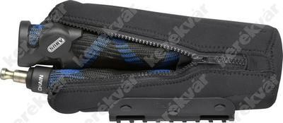 Abus ST 2012 táska fekete Ivera Chain 7210 lakathoz