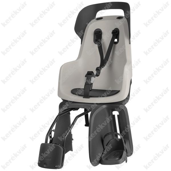 Bobike GO Maxi gyerekülés vázra szerelhető szürke/fekete