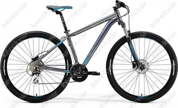 """Merida Big-nine 20D MTB 29"""" kerékpár ezüst/kék 2018"""