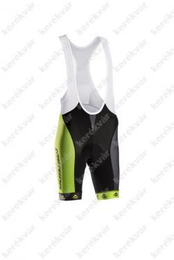 kantáros rövid nadrág fekete/zöld/fehér   Kép