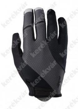 BG Gel hosszú ujjú kesztyű Fekete/Szürke   Kép
