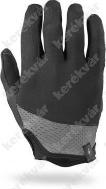 BG trident hosszú ujjú kesztyű Fekete/Szürke   Kép