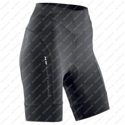 Crystal 2 short pants non bib black   Image
