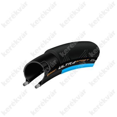 Continental Ultra Sport II országúti 622(700C) külső gumi fekete/kék hajtogatós
