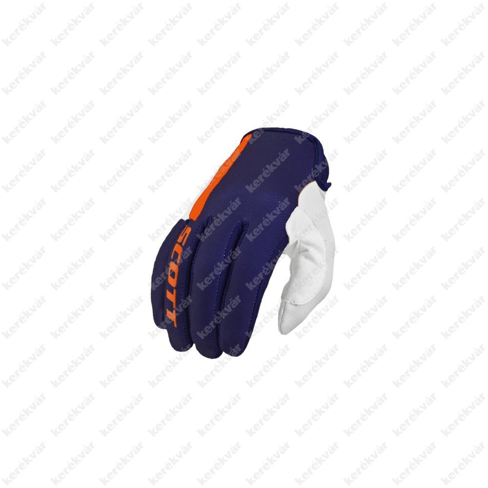 Scott 350 Dirt hosszú ujjú kesztyű kék/fehér