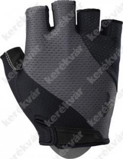 BG gel rövid kesztyű fekete/sötétszürke   Kép