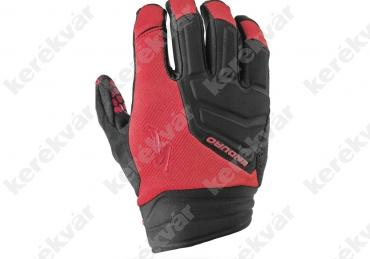 Specialized Enduro hosszú ujjú kesztyű piros/fekete