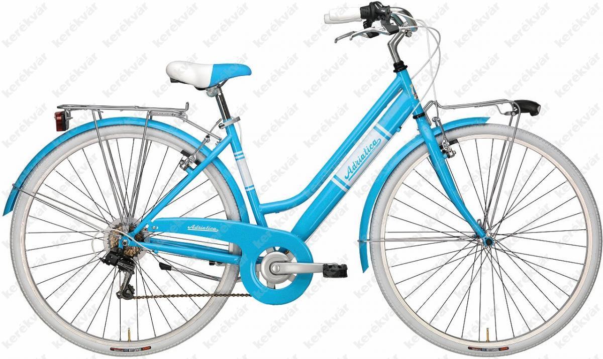 "Adriatica Panarea 28"" női kerékpár kék/fehér 2018"