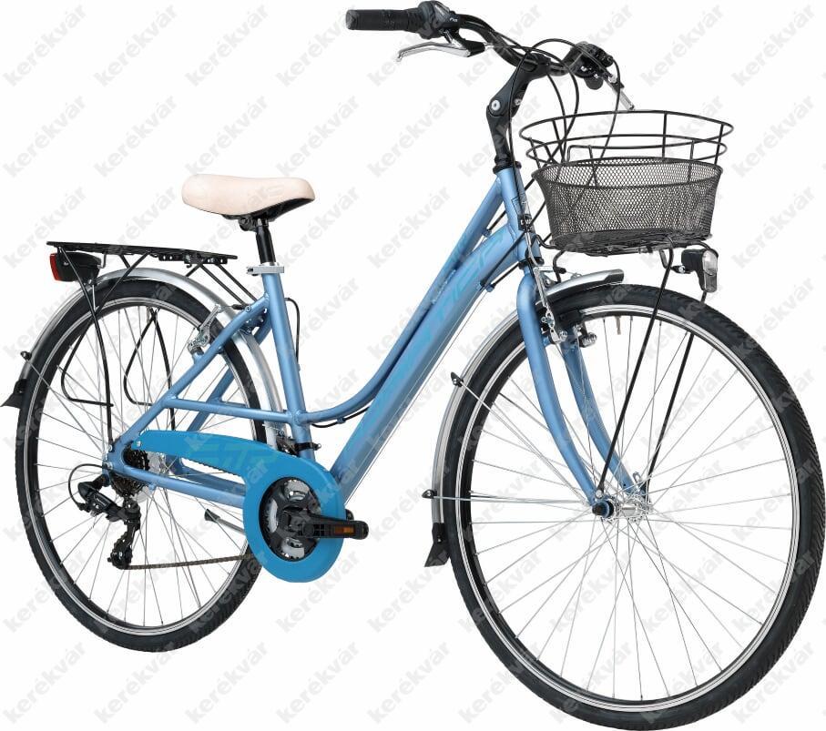 """Adriatica Sity 3 Lady 28"""" női kerékpár kék 2018"""