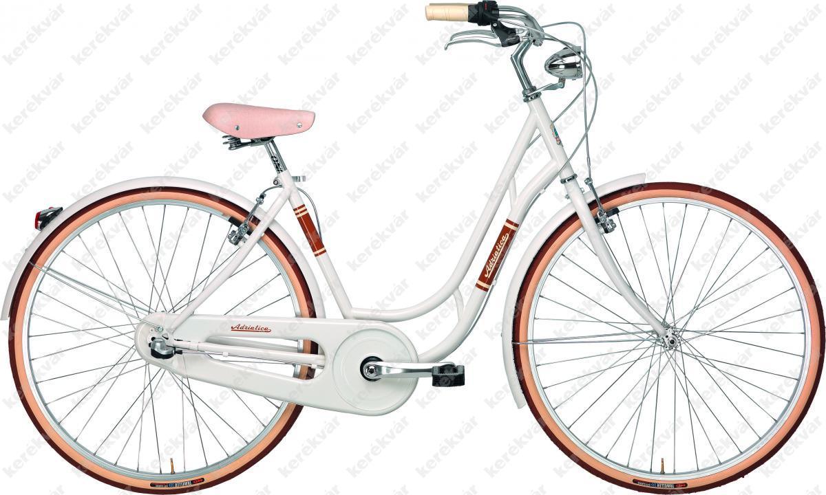 "Adriatica Danish Lady Nexus 28"" női kerékpár fehér 2018"