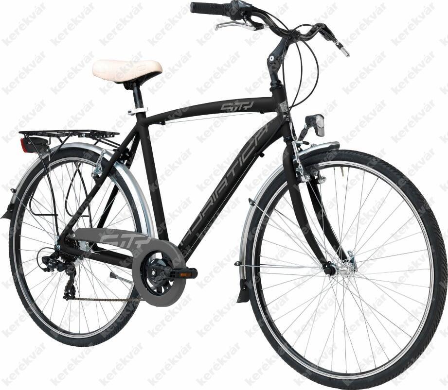 "Adriatica Sity 3 28"" kerékpár fekete 2018"