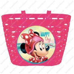 kormányra szerelhető műanyag kosár rózsaszín  Disney Kép