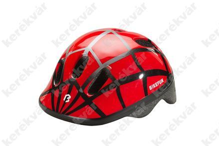Bikefun Ducky gyerek fejvédő piros/fekete
