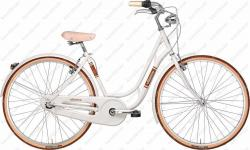 "Danish Lady 28"" woman's bicycle 6 speed white 2018   Image"