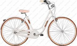 """Danish Lady 28"""" női kerékpár 6 sebességes fehér 2018  Kép"""