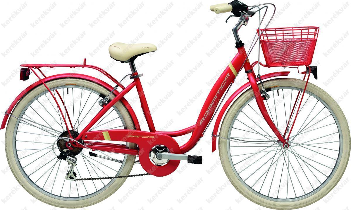 "Adriatica Panda 26"" női kerékpár piros 2018"