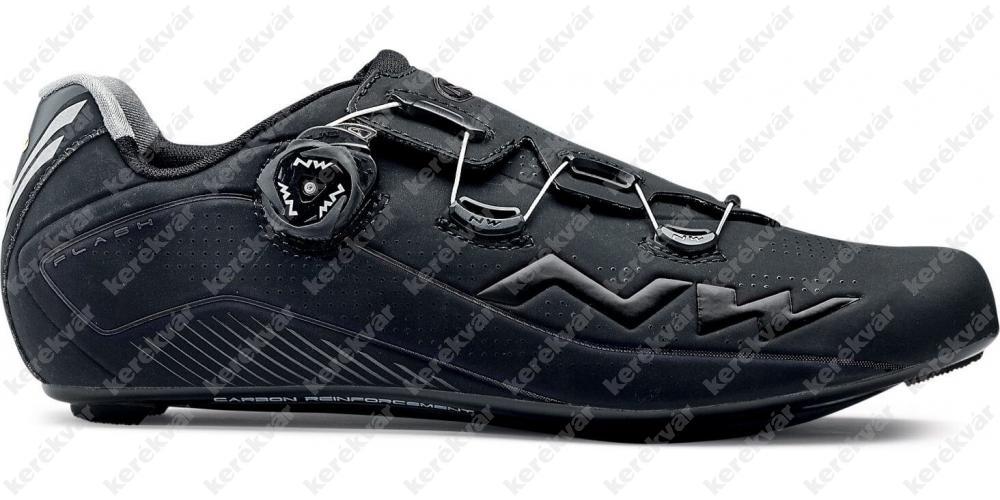 Northwave Road Flash2Carbon országúti cipő fekete
