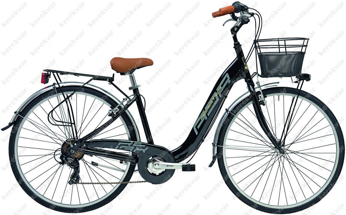 """Adriatica Relax 28"""" női kerékpár 6 sebességes fekete 2018"""