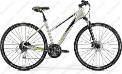 Crossway 100 Cross Trekking woman's bicycle silver 2019  Image