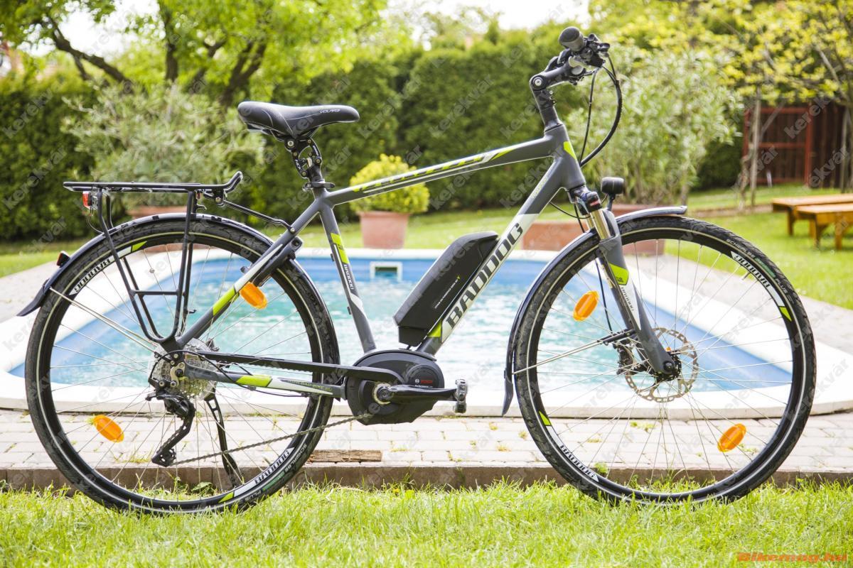 Baddog Akita 10.0 elektromos kerékpár matt szürke 2018