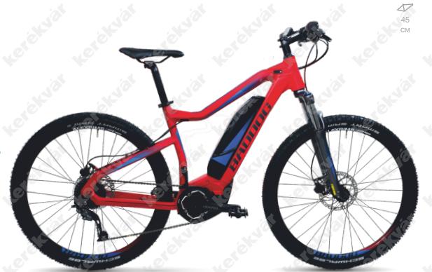 Baddog Pharao S Yamaha MTB bicycle red 2018
