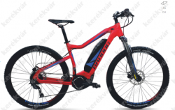 Pharao S Yamaha MTB bicycle red 2018  Image