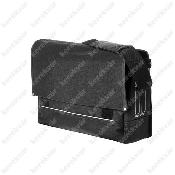 Basil Urban Fold Messenger Bag csomagtartó táska fekete