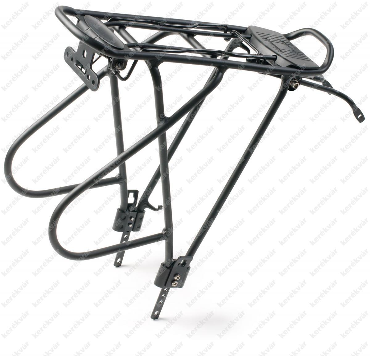 Bikefun Multirack 26 alu csomagtartó állítható fekete