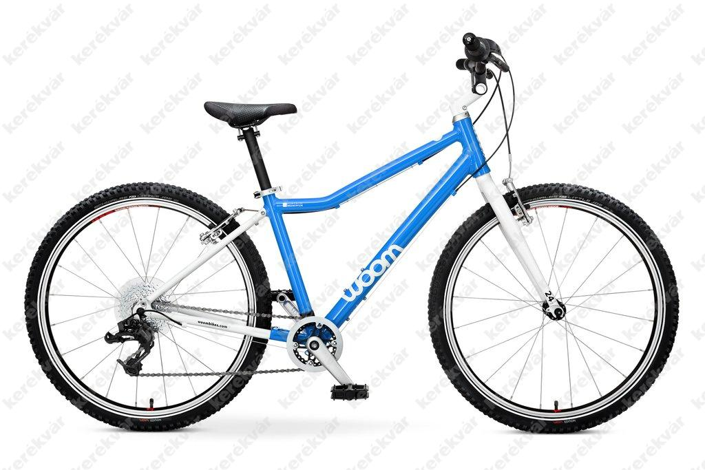 Woom 5 gyermek bicycle blue 2020