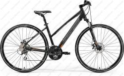 Crossway 20MD Cross Trekking kerékpár fekete/narancs 2019  Kép