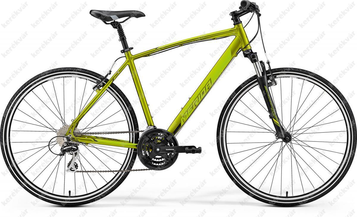 Merida Crossway 20V Cross Trekking kerékpár zöld 2019