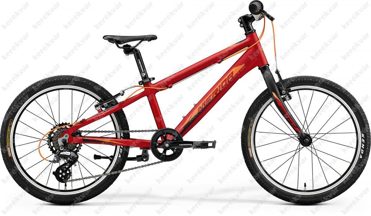 """Merida Matts Junior Race 20"""" kerékpár bordó/narancs 2020"""