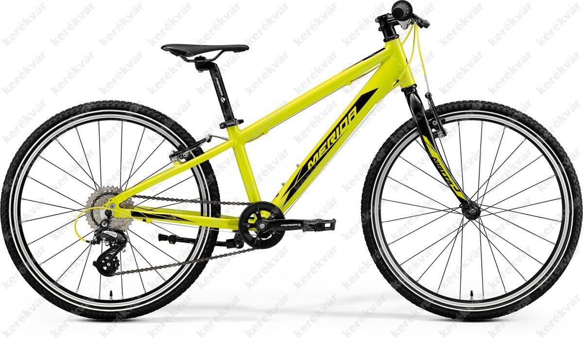 """Merida Matts Junior Race 24"""" bicycle yellow 2020"""